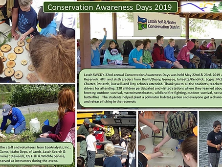 2019 Conservation Awareness Days Summary