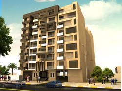 Apartments Building 9 floors