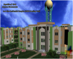 RESIDENTIAL COMPLEX 3 STORIES