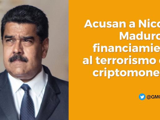 ACUSAN A NICOLÁS MADURA DE FINANCIAMIENTO AL TERRORISMO CON CRIPTOMONEDAS