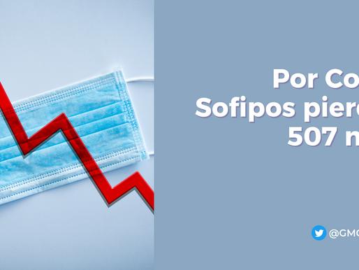 Por Covid, Sofipos pierden 507 mdp