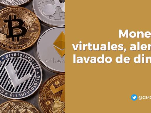 MONEDAS VIRTUALES, ALERTAN LAVADO DE DINERO