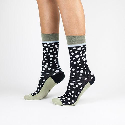 """Tvarios kojinės """"Monochrome rain"""""""