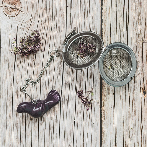 """Arbatos sietelis """"Violetinis paukštis"""""""