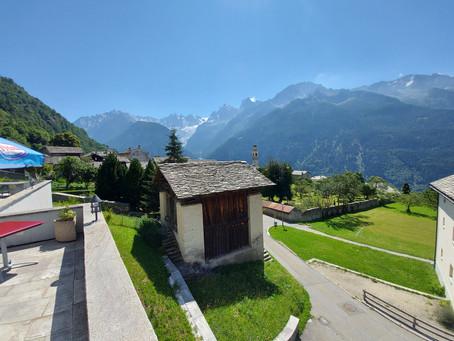 08.08.20 BündnerTour ( Route: Bülach Chur  Splügen Chiavenna Soglio Maloya Albula Lenzerheide )