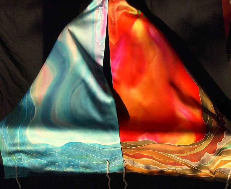 Sunrise & Sunset | Silk Tallit