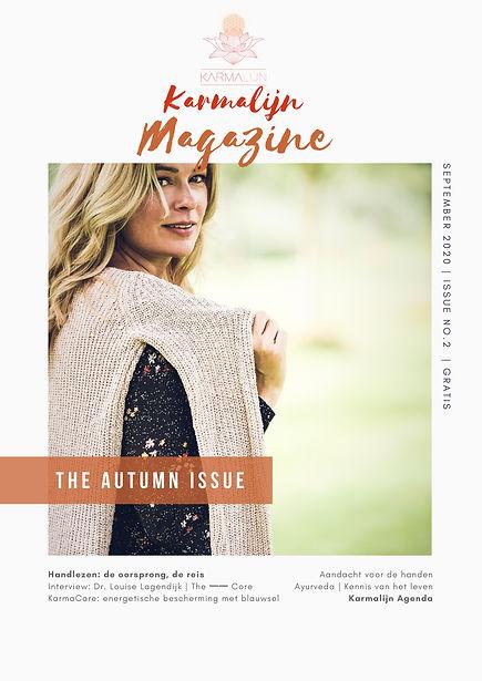 Karmalijn Magazine 2020 autumn issue no2