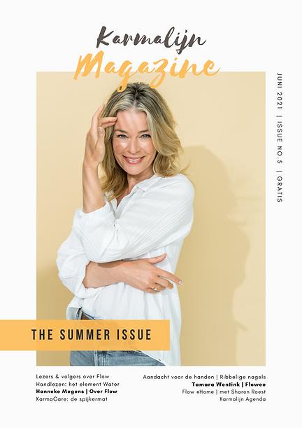 Karmalijn Magazine Summer Issue No.5 COV