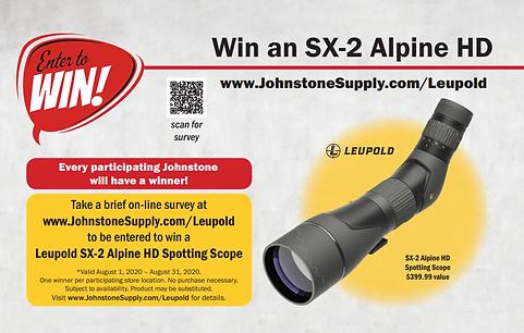 08012020-08312020Take Survey Win A Scope