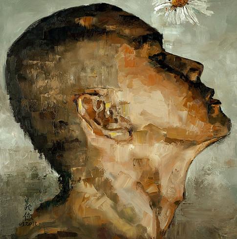 A Male Head