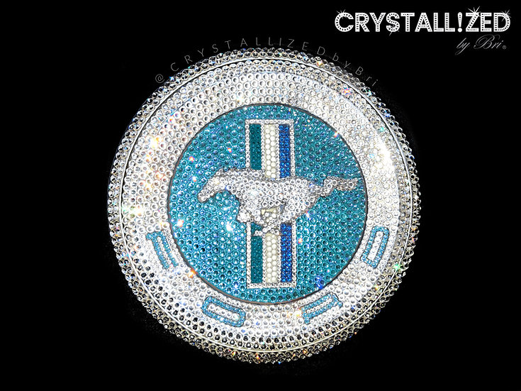 CRYSTALL!ZED Ford Mustang Pony Emblem - Decklid