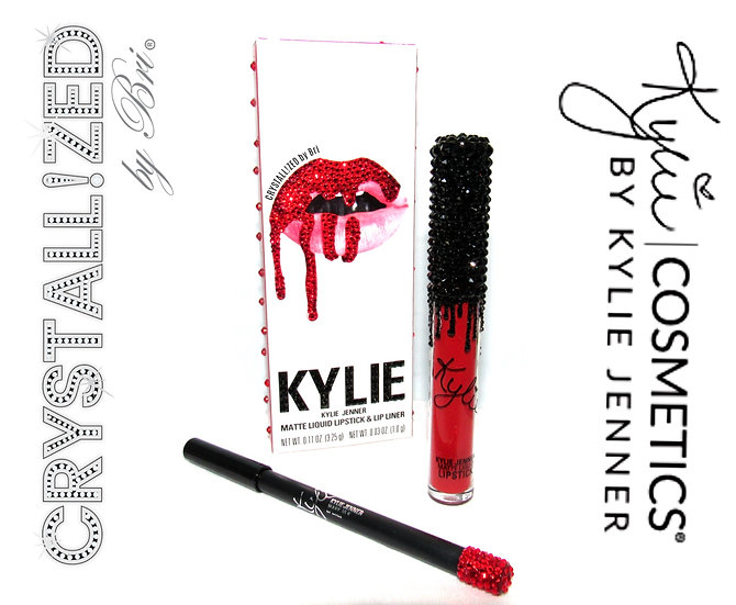CRYSTALLIZED Kylie Jenner Lip Kit - Matte