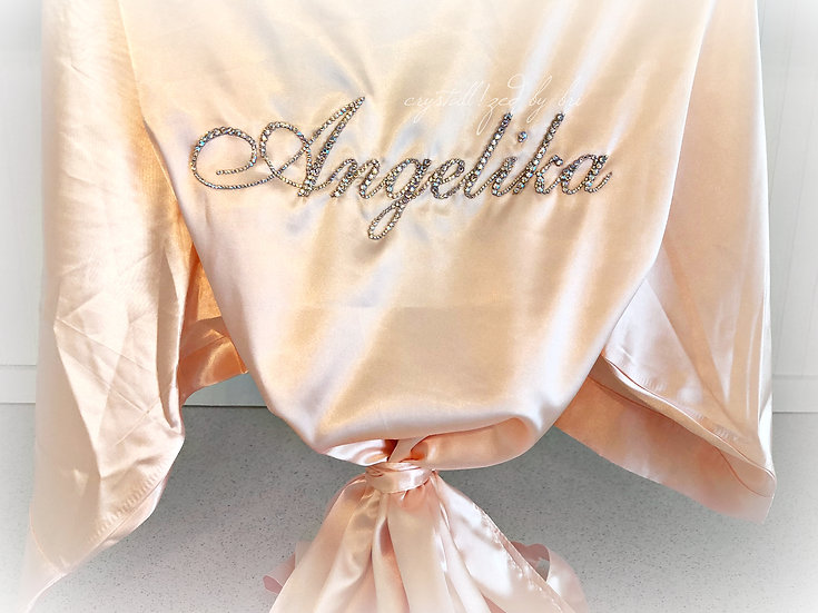 CRYSTALL!ZED Bridesmaids Robe - Personalize It!