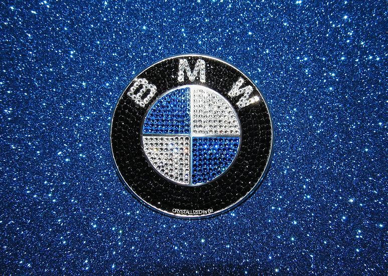 "CRYSTALL!ZED BMW Emblem - 2 7/8"""
