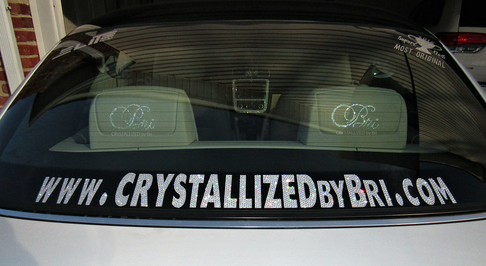 CRYSTALL!ZED Website Car Decal