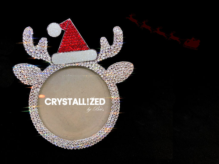 CRYSTALL!ZED Reindeer Picture Frame