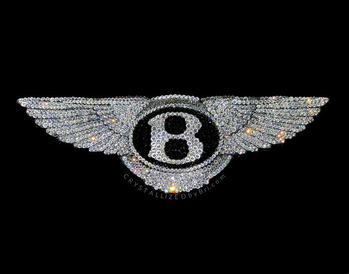 CRYSTALL!ZED Bentley Emblem