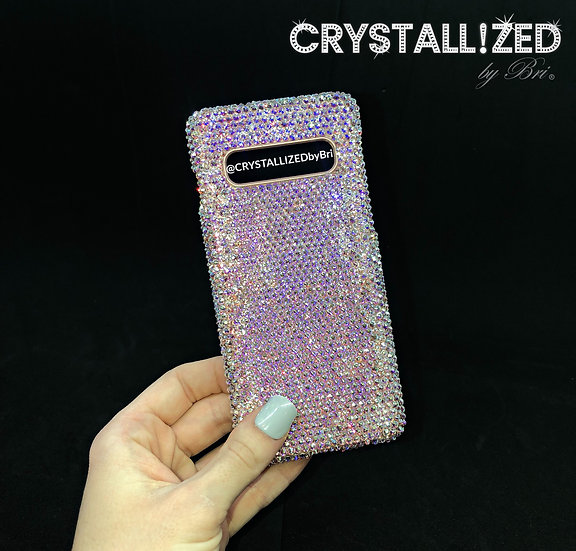 Fully CRYSTALLIZED Android Galaxy Case - Solid Color