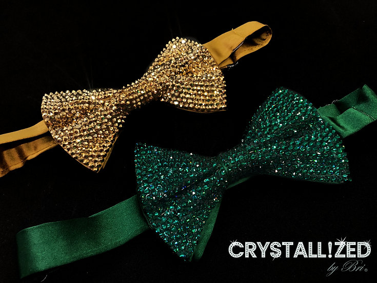 CRYSTALL!ZED Bow Tie - Full Bling