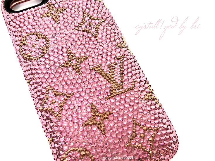 CRYSTALLIZED Bumper iPhone Case - LV