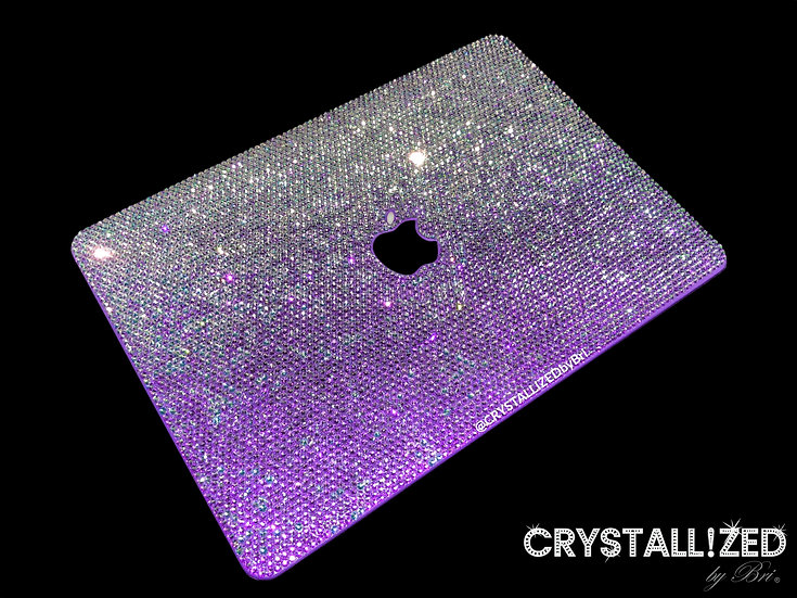 """Ombre CRYSTALLIZED Mac Laptop Case - 11"""""""