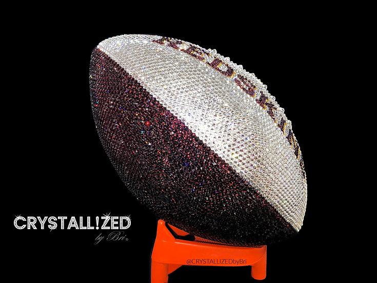 CRYSTALLIZED Full Size Football - Chicago Bears