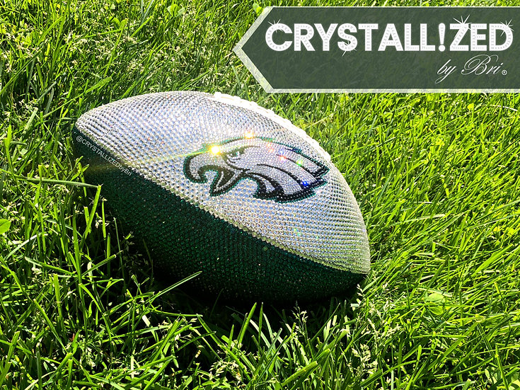 CRYSTALLIZED Full Size Football - Philadelphia Eagles