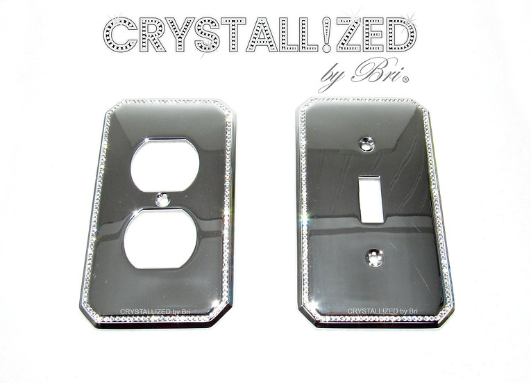 Perimeter CRYSTALL!ZED Switch Plate - Any Configuration