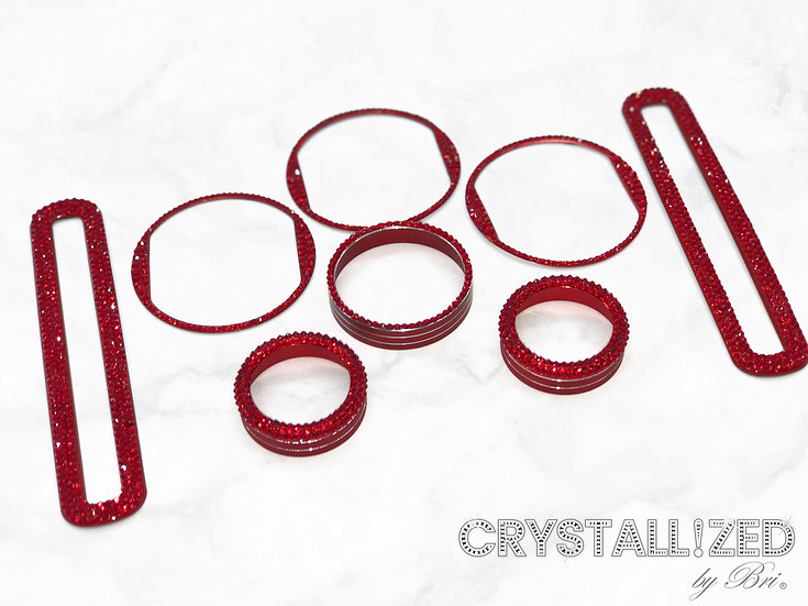 CRYSTALL!ZED Mustang Interior - 8 Piece