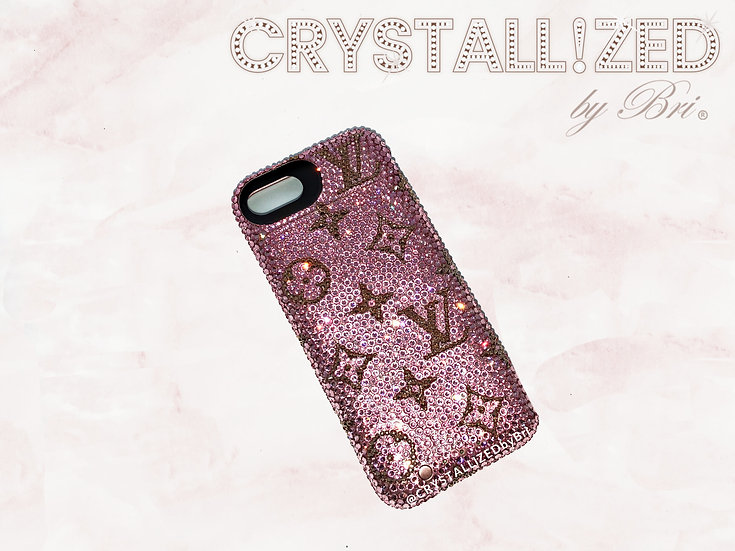 Fully CRYSTALLIZED iPhone Case - LV