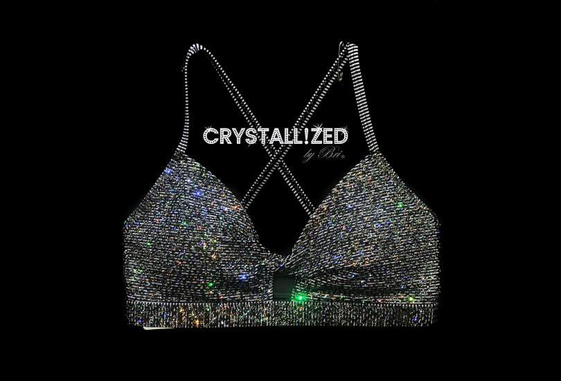 Custom CRYSTALLIZED Sports Bra