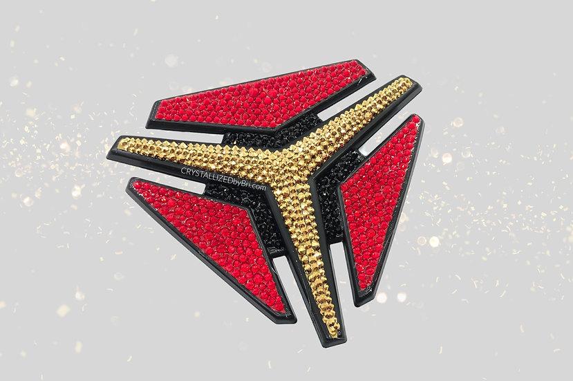 "CRYSTALLIZED Polaris Slingshot Emblem - 4"""