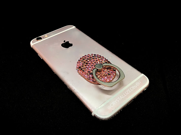 CRYSTALLIZED Phone Ring Grip - Oval