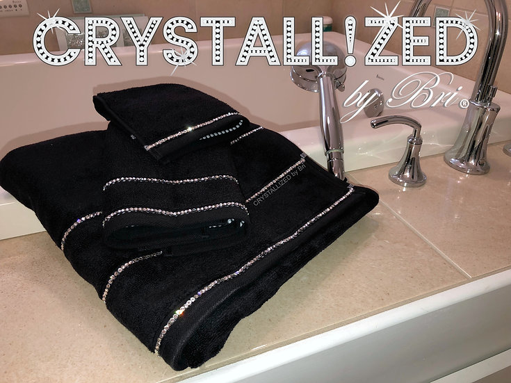 CRYSTALL!ZED Towels