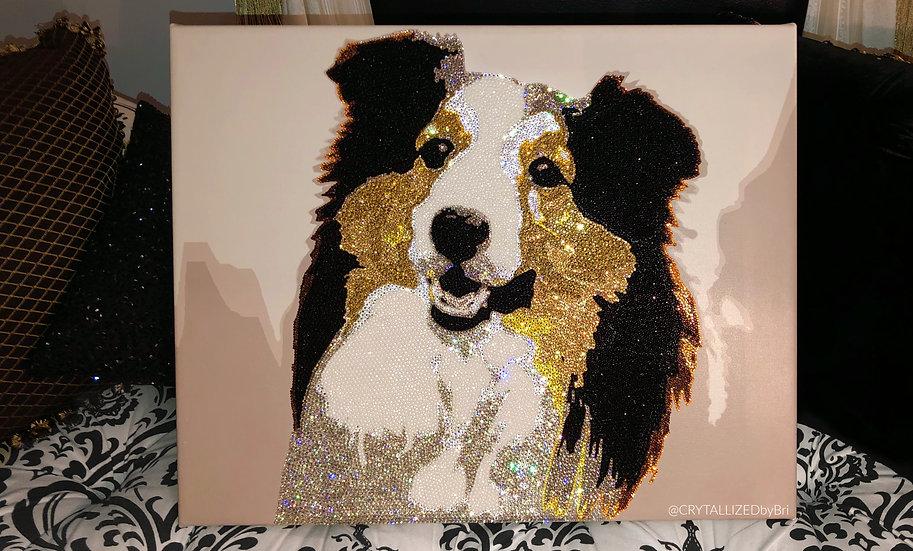 CRYSTALL!ZED Pet Portrait