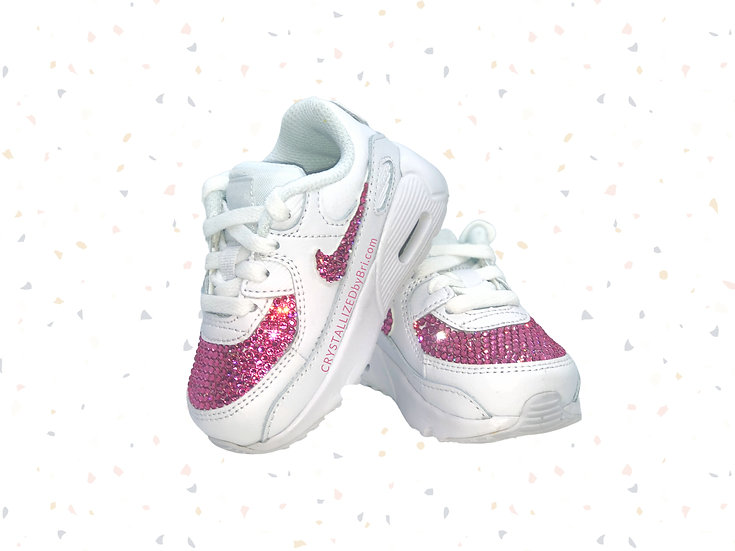 CRYSTALLIZED Baby Nike's - Swooshes & Front