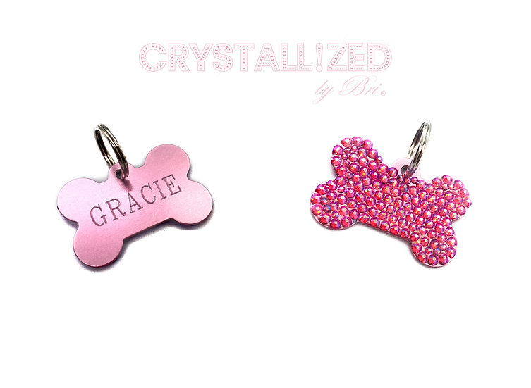 CRYSTALL!ZED Dog Tag - Personalize It!