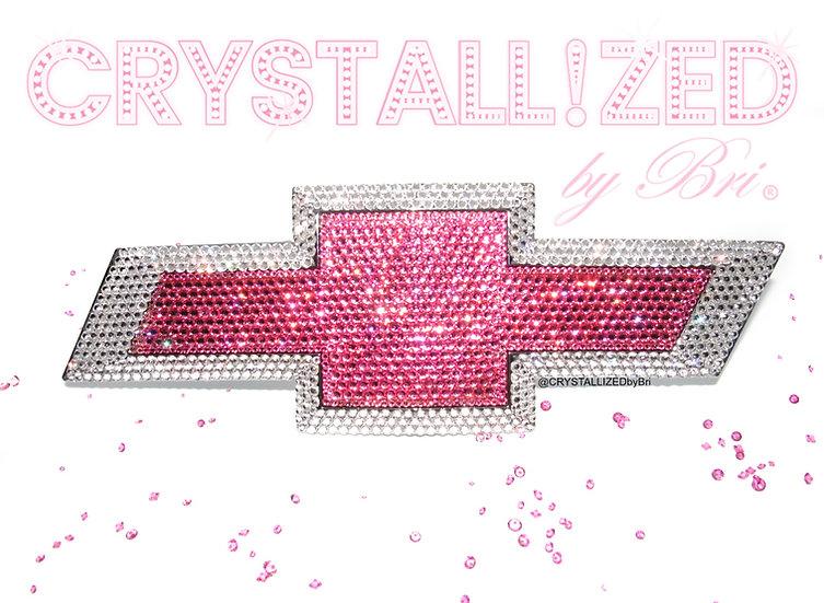 CRYSTALL!ZED Chevrolet Emblem - Rear