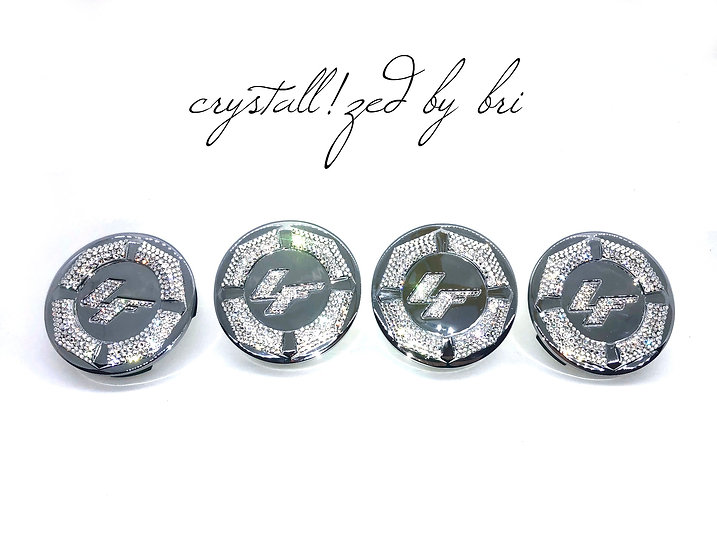 CRYSTALL!ZED Lexani Wheel Center Caps - Set of 4