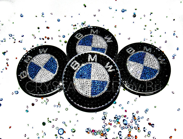 CRYSTALL!ZED BMW Center Caps - Set of 4