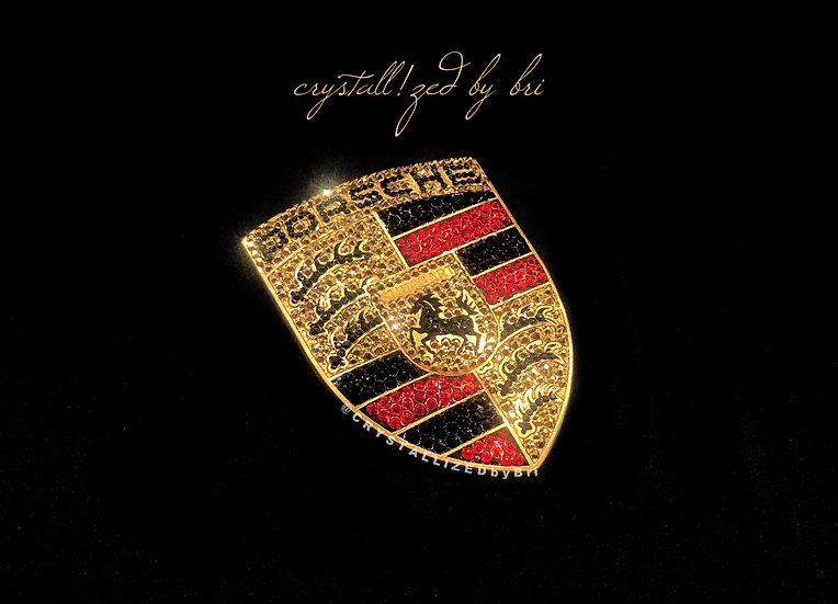 CRYSTALL!ZED Porsche Emblem - Hood