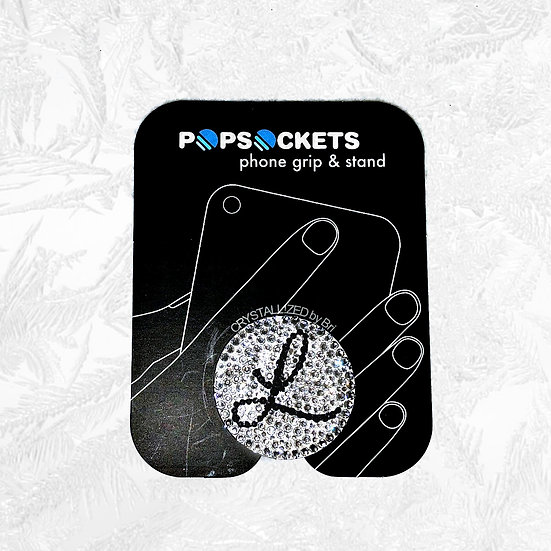 CRYSTALLIZED PopSocket - with Initial