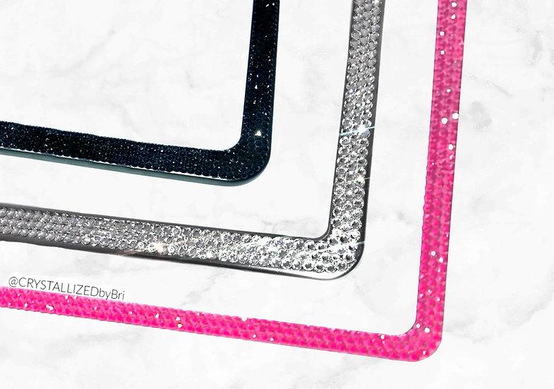 CRYSTALL!ZED License Plate Frame - Slim