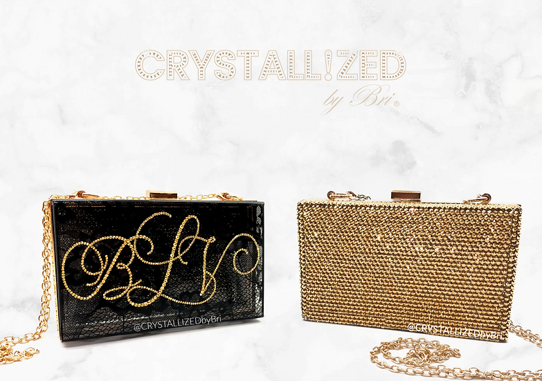 CRYSTALL!ZED Clutch Bag - Personalize It!