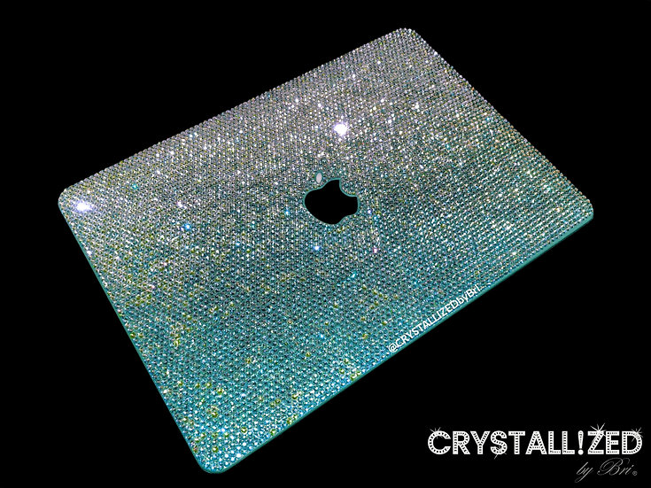 """Ombre CRYSTALLIZED Mac Laptop Case - 13"""""""