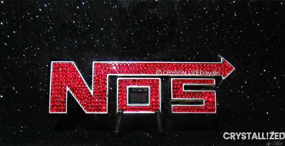 CRYSTALLIZED NOS Car Emblem
