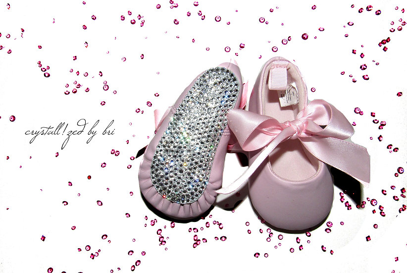 CRYSTALL!ZED Baby Shoes - Girls