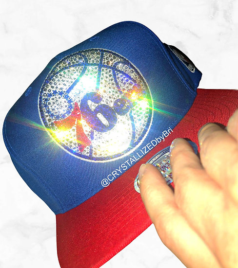 CRYSTALLIZED Hat - Philadelphia 76ers