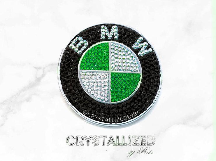 "Custom Color CRYSTALL!ZED BMW Emblem - 2 7/8"""