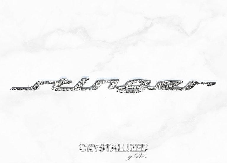 CRYSTALLIZED Kia Stinger Emblem